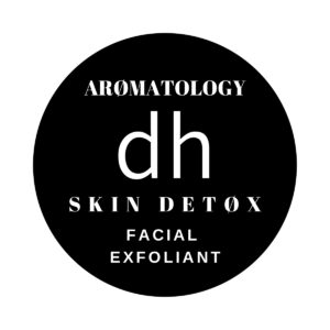 Label for Skin Detox Facial Exfoliant by dh Aromatology
