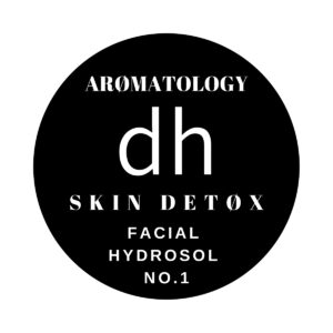 Label for Skin Detox Facial Hydrosol No.1 by dh Aromatology