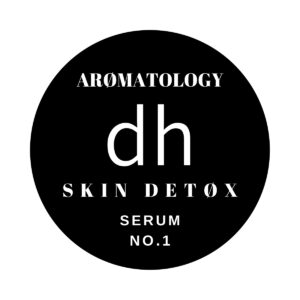 Label for Skin Detox Serum No.1 by dh Aromatology